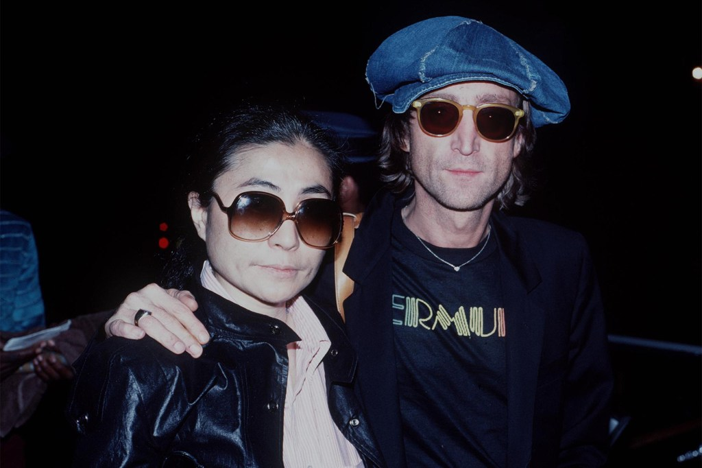 According to Paul McCartney, John Lennon's (right) passion for his wife Yoko Ono (left) were incompatible with the band continuing to write and record together.
