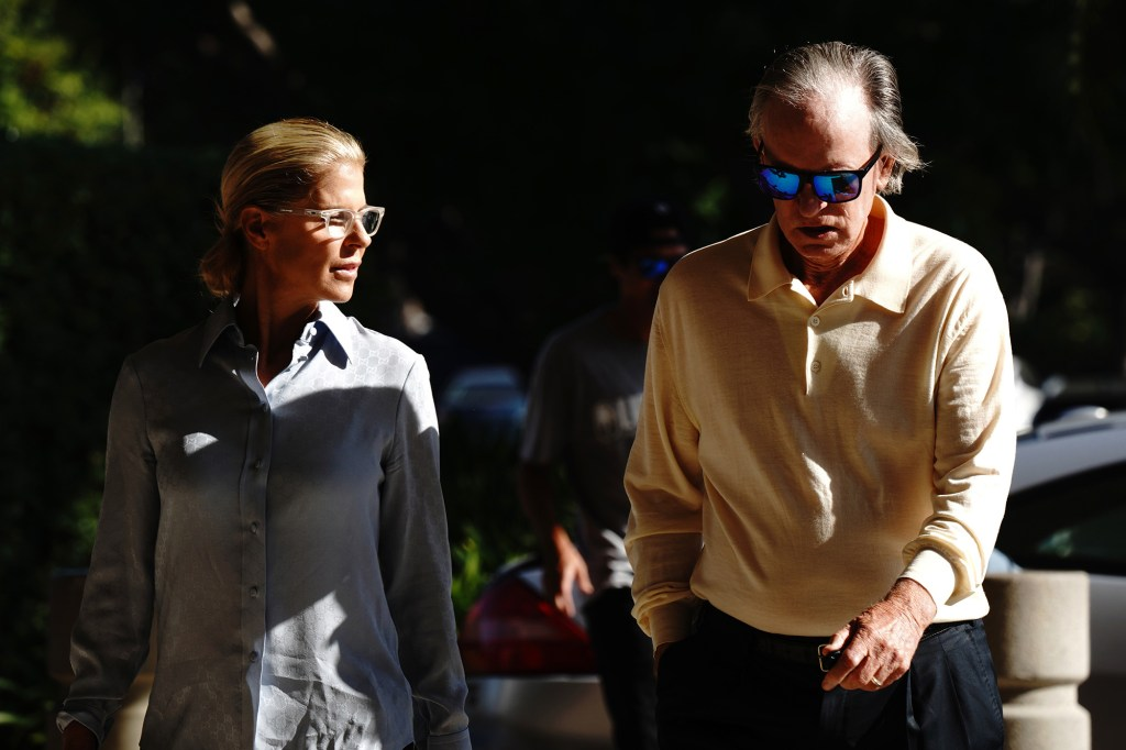 Amy and Bill Gross