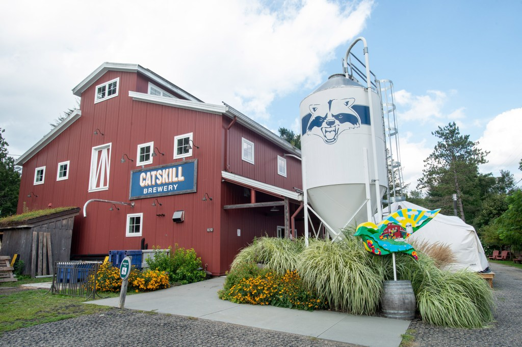 """Lewis said he and his partners intended for Catskill Brewery to be a """"focal point"""" for tourists."""