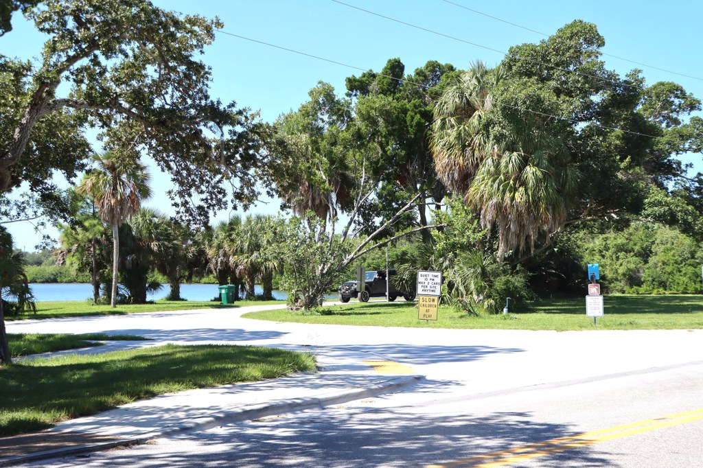 Fort De Soto Park Camping area where Dog the Bounty Hunter claims that Brian Laundrie was last seen here with his parents.