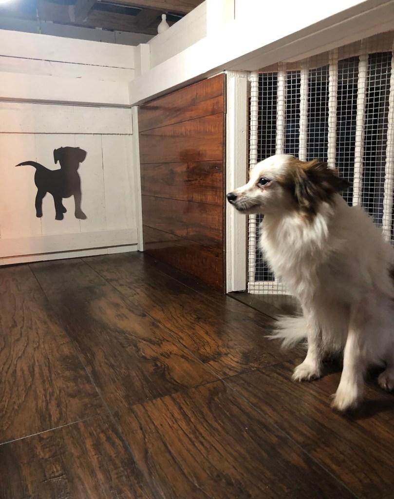 The wood floors cost $50, Elliott said.