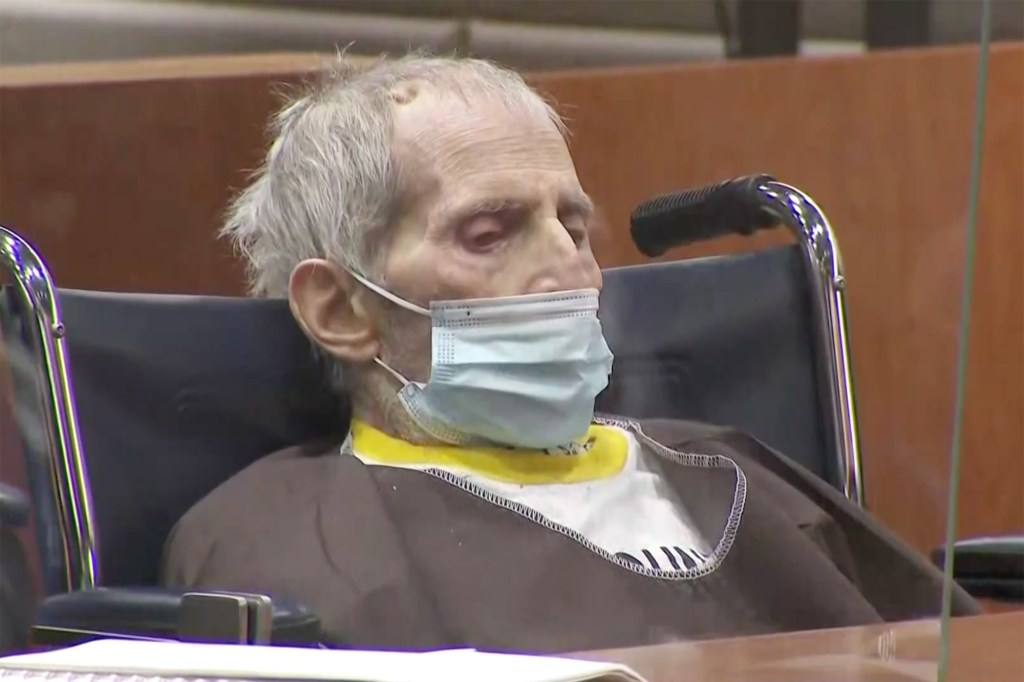 Robert Durst sentenced in Los Angeles court - He was given life in prison without parole for killing Susan Berman.
