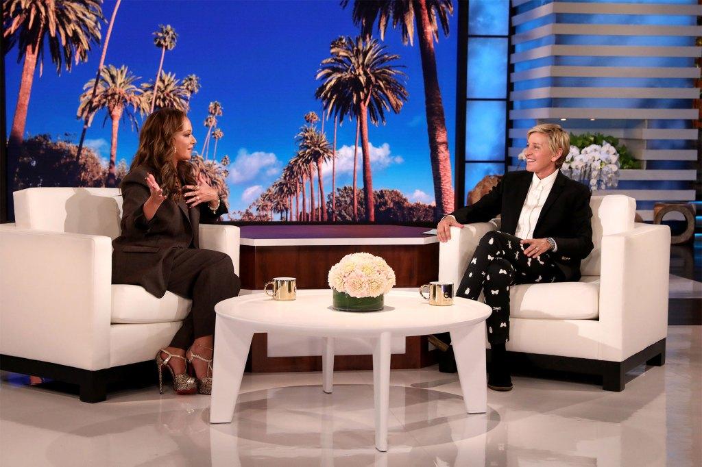 "Remini said DeGeneres said she didn't seem ""interested."""