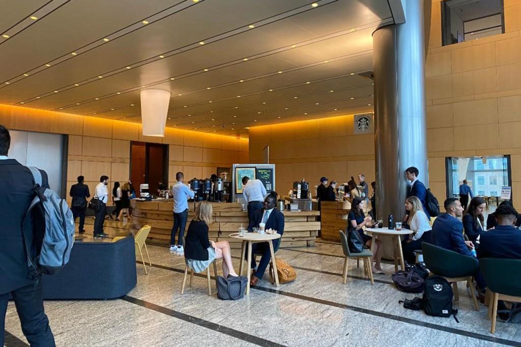 Sky Lobby at Goldman Sachs HQ
