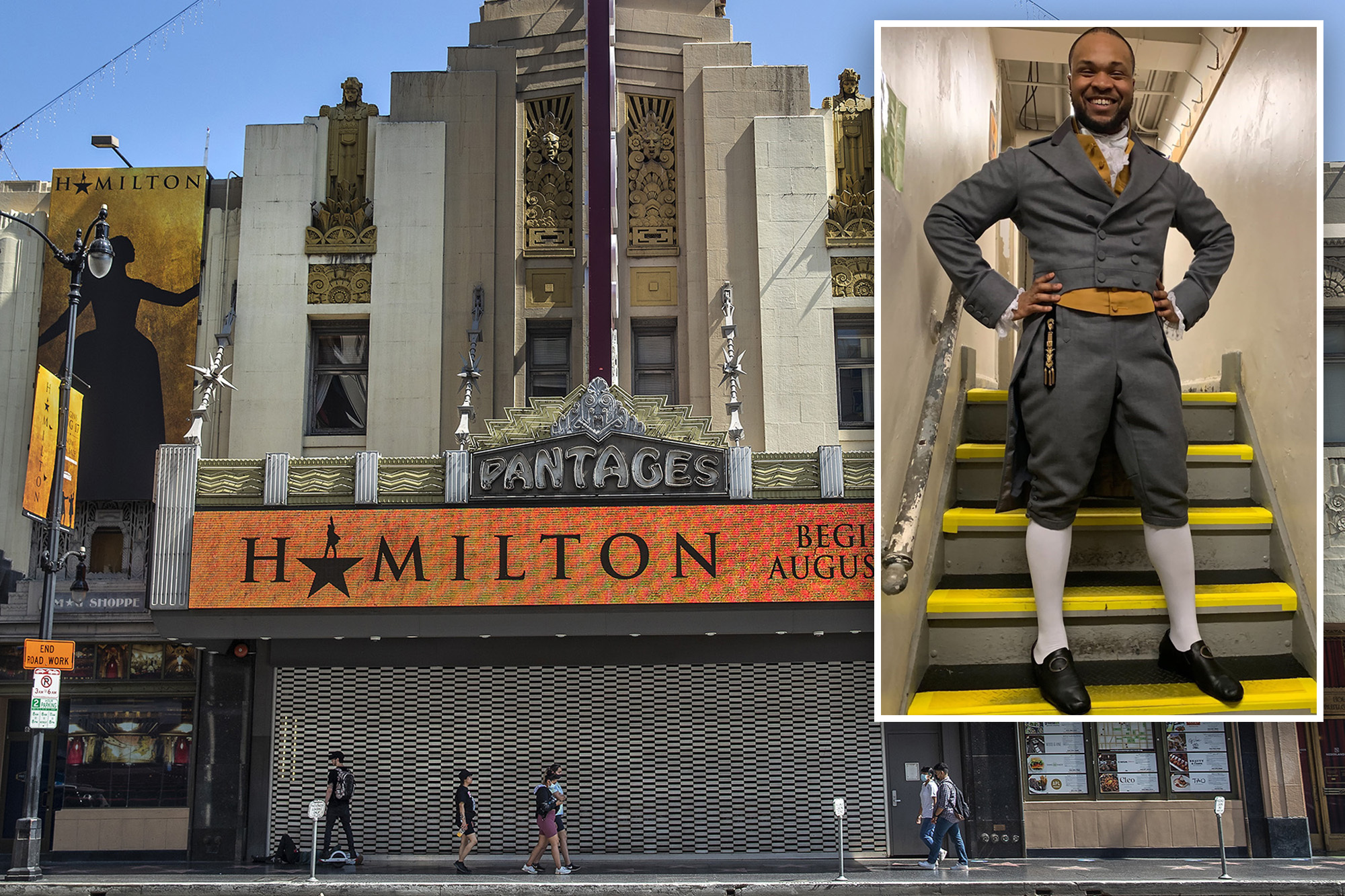 """Here we go: Black trans Hamilton actor who performed on Broadway sues the show over claims producers fired """"them"""" from LA production for requesting gender neutral dressing room"""