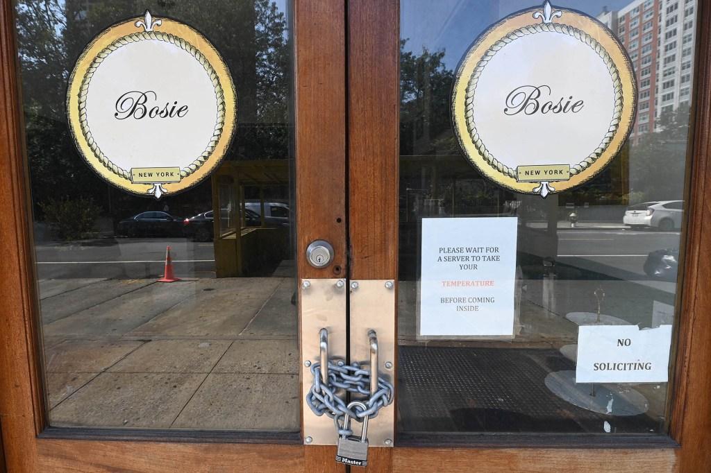 Bosie doors locked