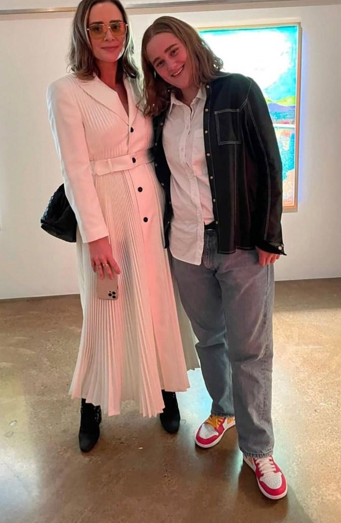 Naomi and Maisy Biden.
