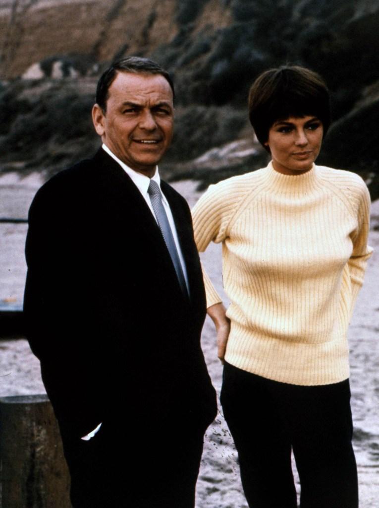 Frank Sinatra and Jacqueline Bisset