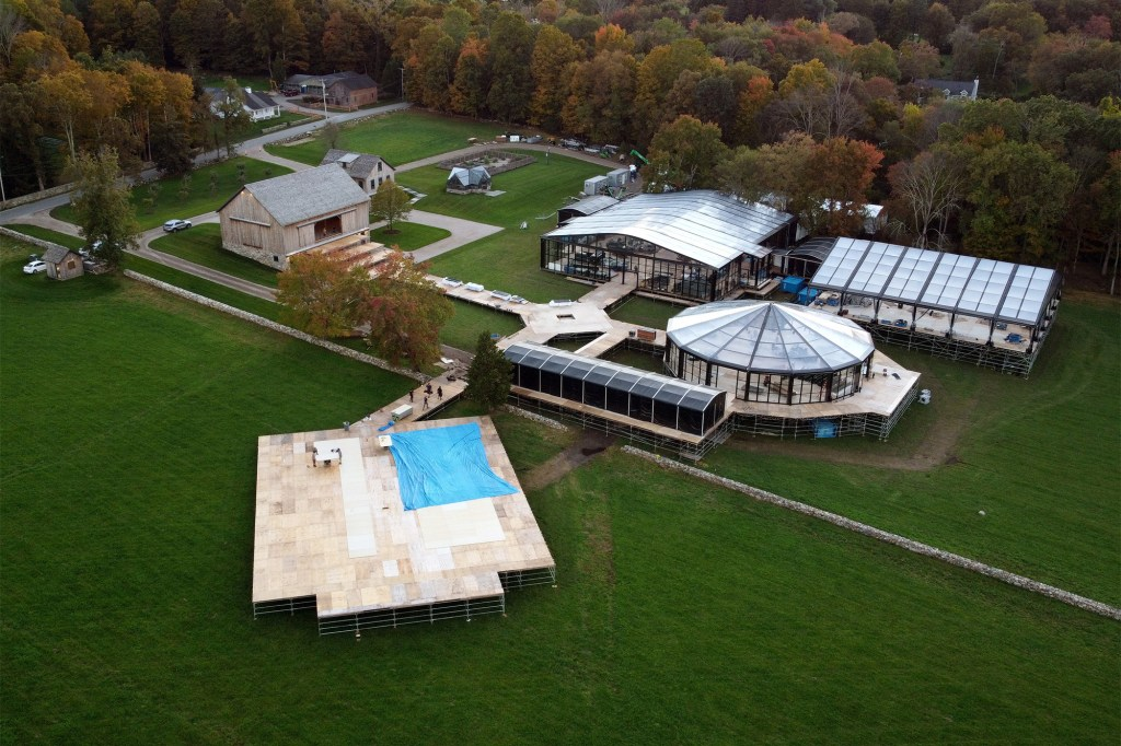 The wedding will take place at a horse farm in Westchester County.