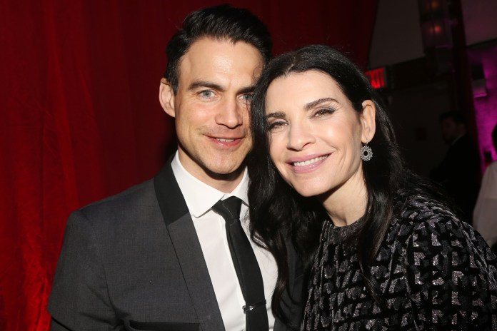 Julianna Margulies poses with her husband, Keith Lieberthal, at an event early last year.