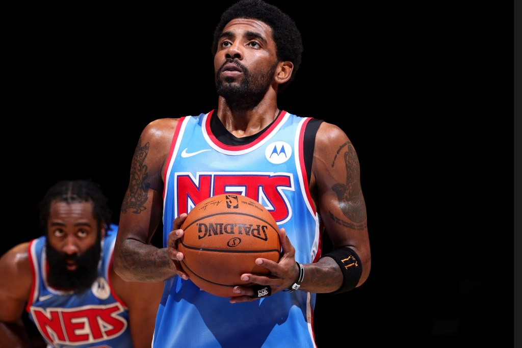 The Nets told Kyrie Irving to stay away from Nets amid the vaccine drama.
