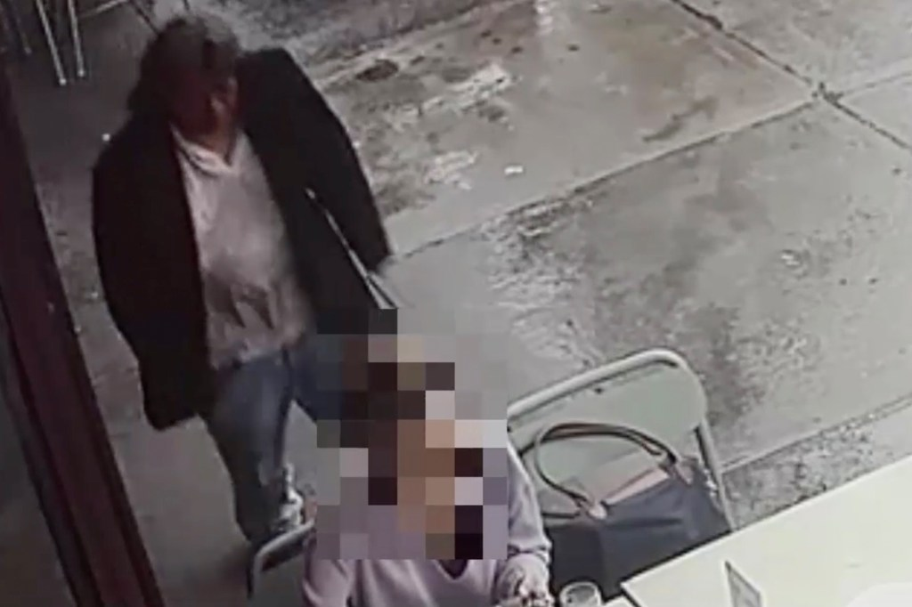 Minerva Martinez allegedly went up to a woman at a Queens restaurant and started choking her.