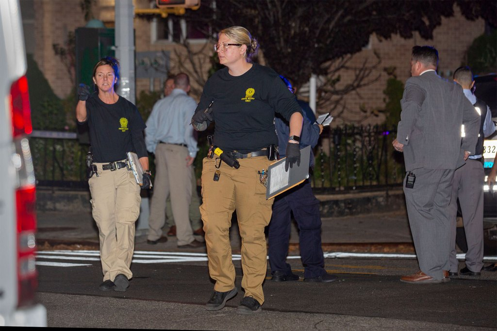 """A neighbor claimed Wu showed """"no emotion"""" when NYPD officers arrived to the scene."""