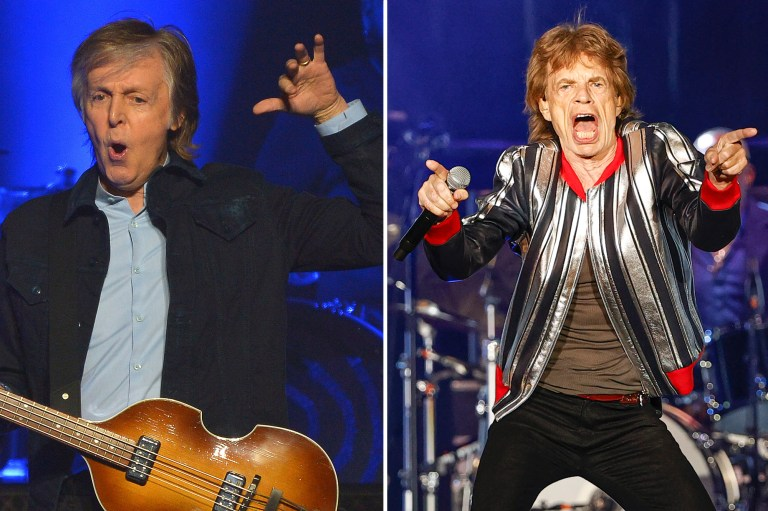 Paul McCartney calls The Rolling Stones a 'blues cover band'