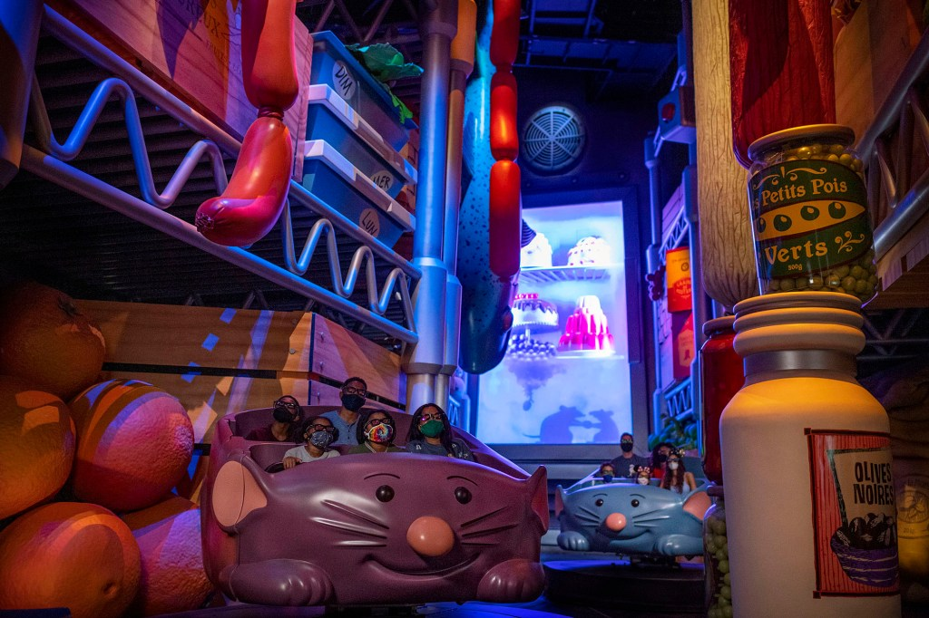 Remy's Ratatouille Adventure at EPCOT first launched in Paris in 2014.