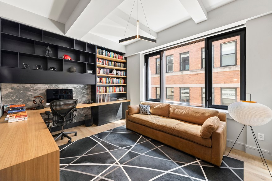 """""""My favorite spot is Mark's office. I'm a super fan. I love his books, they're super helpful, and his office is really beautiful. It has nice millwork and is really well-done. You can really see the writer's mind in the space,"""" said Serhant."""