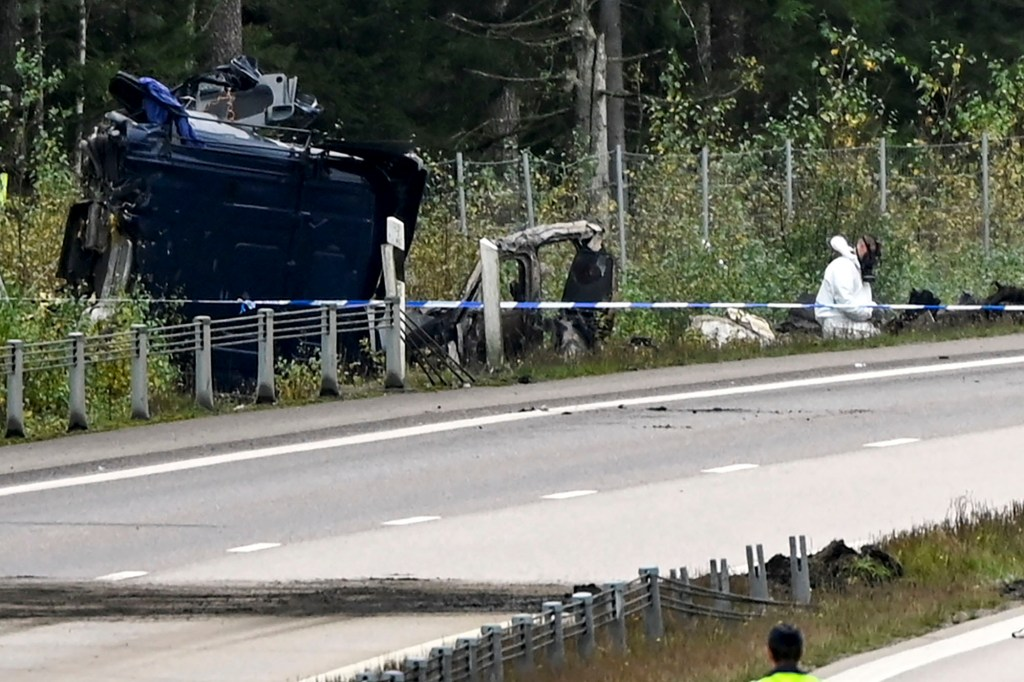 According to police, Lars Vilks was traveling in a civilian car with a police escort when the accident occurred.