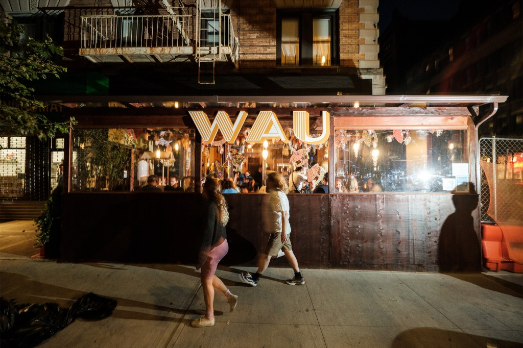 The just-opened Wau already has a lively scene.