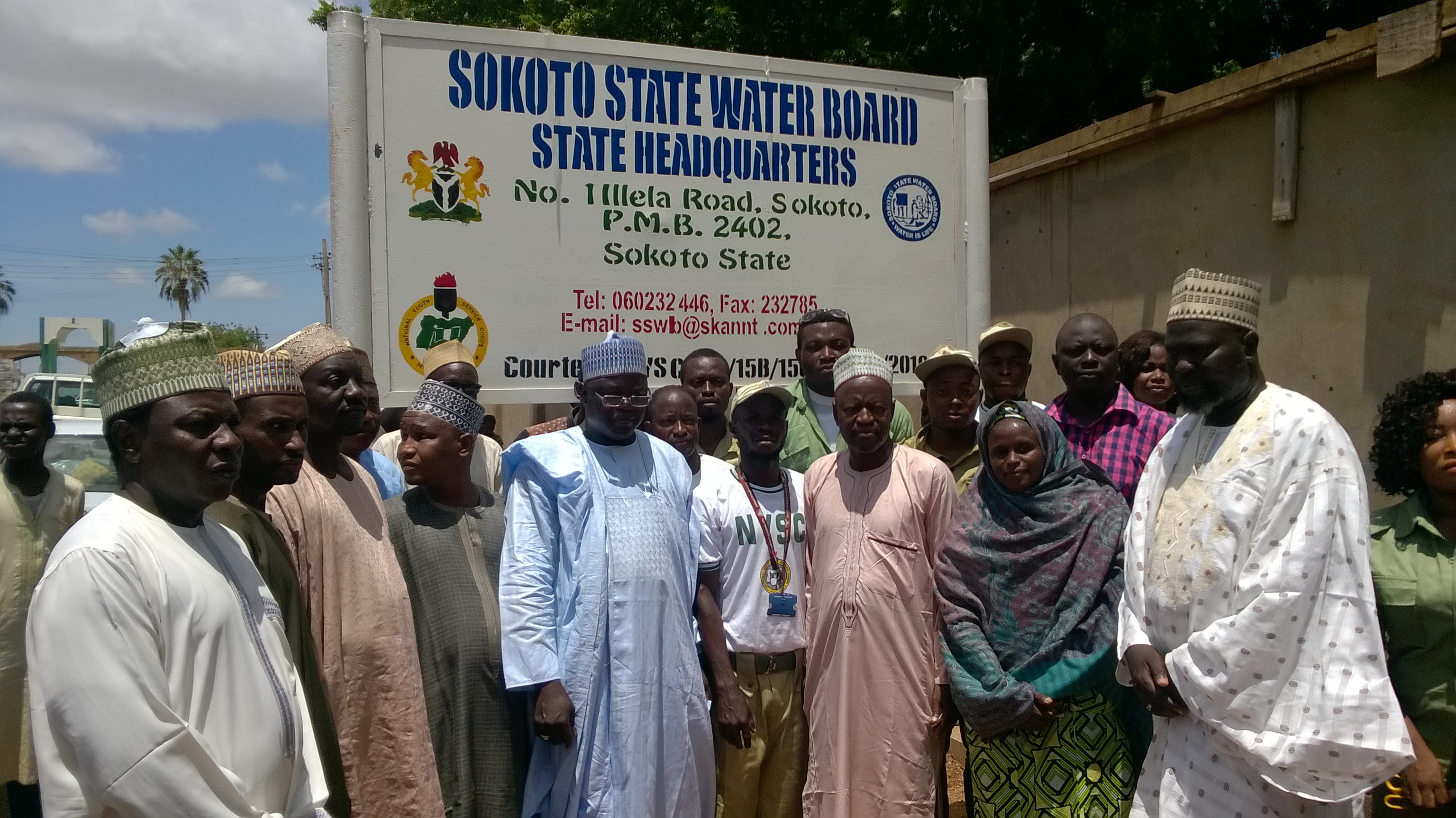 Sokoto State Water Board (SSWB), has provided alternative water supply schemes to residents following the submerging of two installations by flood after heavy rainfall experienced in the state. The SSWB General Manager, Mr Sama'ila Umar-Sanda, disclosed this on Monday when he led the State's Commissioner for Water Resources, Mr Umar Bature, on inspection visit to […]