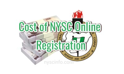 Cost of nysc online registration