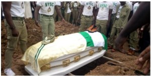 VIDEO: Corper Precious Owolabi buried in Kaduna