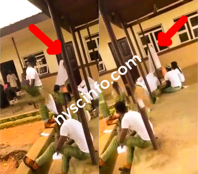 LGI stops female Corper from thumbprinting for wearing Skirt