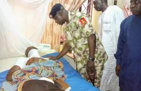 NYSC DG, visits injured Katsina Corps Members