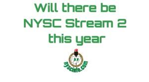 Nysc Stream 2