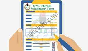 How To Fill Internal NYSC Mobilization Form in Your School
