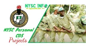 List of NYSC Award Winning Personal CDS Projects