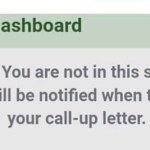 You will be notified when to print your Call-up letter