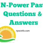 NPower Past Questions and Answers