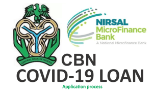 How to Apply for CBN NIRSAL COVID-19 Loan