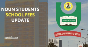 Breakdowns of NOUN School Fees and List of Courses