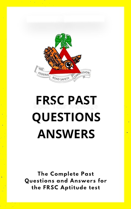 FRSC Past Questions And Answers PDF Free Download