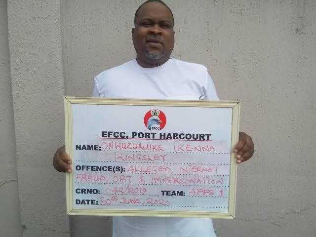 Efcc arrested nwata Anayoeze