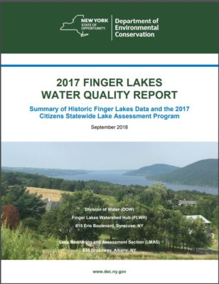 DEC Issues 2017 Finger Lakes Water Quality Report
