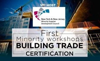 Building Trade Certification – Minority workshops