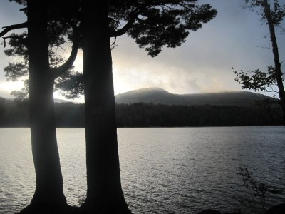 Twin Pines campsite on 13th Lake.