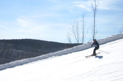 Hunter Mountain spring skiing