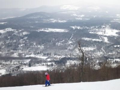 Skiing Windham Mountain