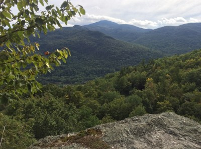 view from bone mountain vt