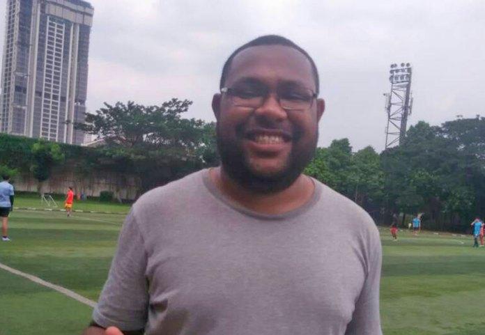 Moresby, satu relawan Uni Papua saat diminta keterangan oleh NYSN