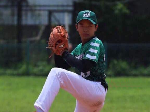 Ray, murid Sekolah Pelita Harapan yang berhasil merebut The Best Pitcher Piala Gubernur Jawa Barat 2017
