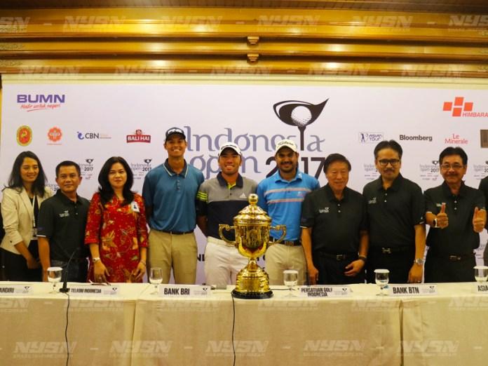 Himbara-bersama-perwakilan-atlet-golf,-Ketua-umum-PB-PGI