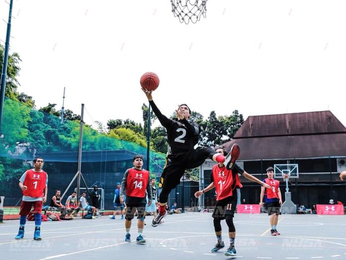Pickup Games yang digelar oleh Under Armour bekerjasama dengan Glorious di lapangan basket Pati Unus, Jakarta Selatan pada 18 November kemarin.