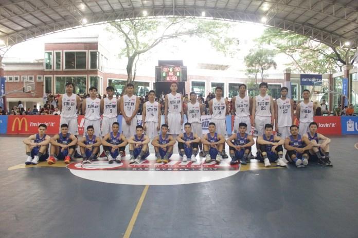 Saat Tim basketball UPH menghadapi Tima basketball STIE BP
