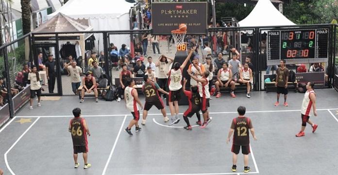 Even Kejuaraan Bola Basket Playmaker Signature Dunk 4 on 4 di Tangerang. (Prast/NYSN.com)