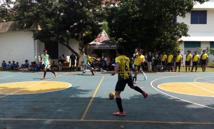 Fakultas Ekonomi dan Bisnis Universitas Pancasila Jakarta menggelar kompetisi futsal antar sekolah. (Adt/NYSN).