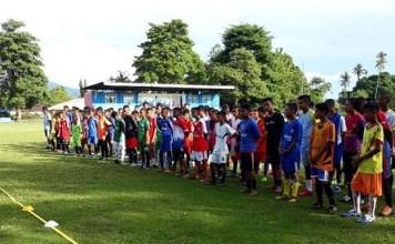 SKO Ragunan melakukan pemantauan bibit muda di Kampung Bola Tulehu, Maluku. (net)